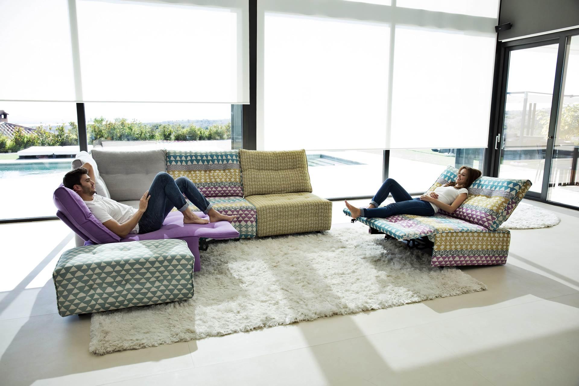 Salon Modulable Relaxation électrique   Story
