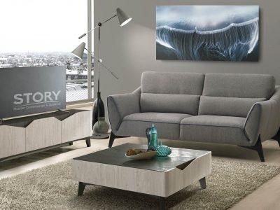 Ce canapé tissu tendance, qui existe en différentes dimensions, possède des coussins cale reins pour offrir un excellent confort. Plusieurs coloris au choix