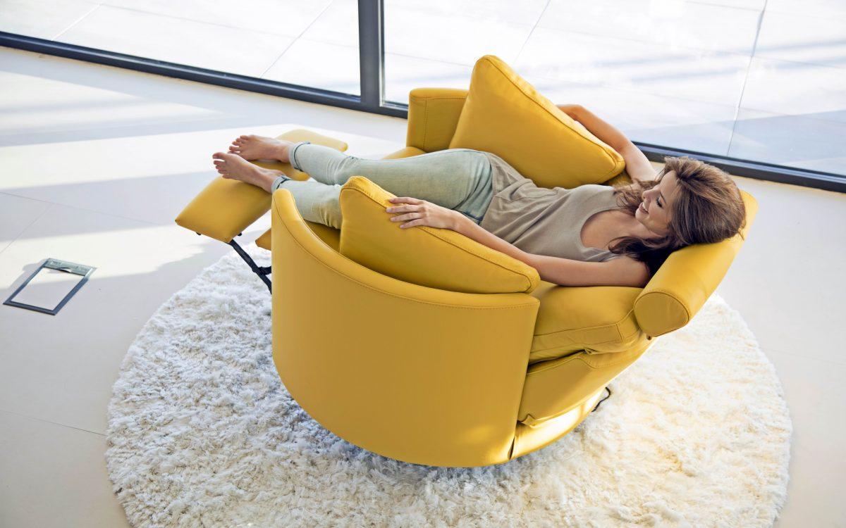 Fauteuil Rond Pivotant Relaxation électrique Story