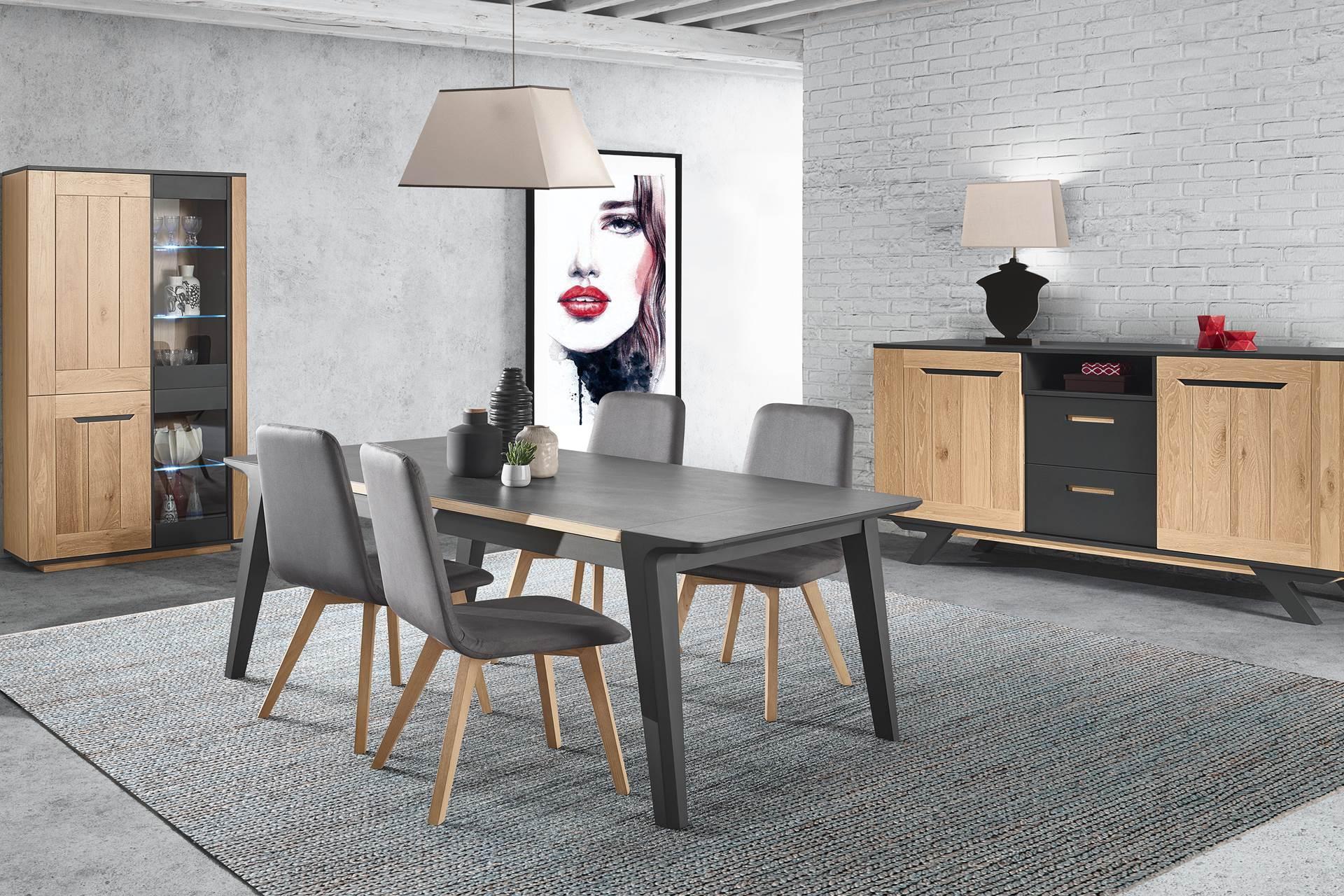 s jour bois et laque style industriel story. Black Bedroom Furniture Sets. Home Design Ideas