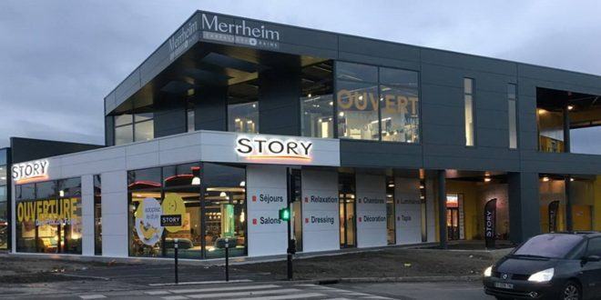 Ouverture magasin story Valencienne, Nord