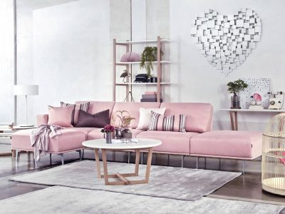 Ce canapé modulable sur pieds, léger et élégant, s'accordera à vos envies et apportera un côté chic et raffiné à votre salon