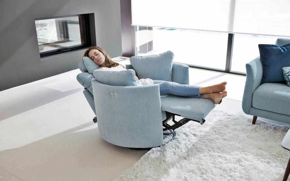 Relax Fauteuil Design.Fauteuil Pivotant Relax Electrique 1 Ou 2 Places Story
