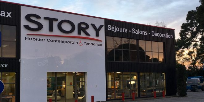 Magasin Story de Montpellier