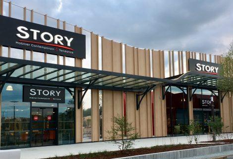 Façade magasin Story Orléans