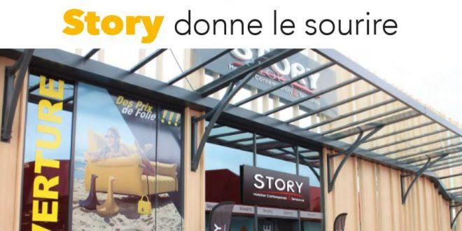 Article de presse journal Market ouverture Strory Caen Orléans et Saint Brieuc