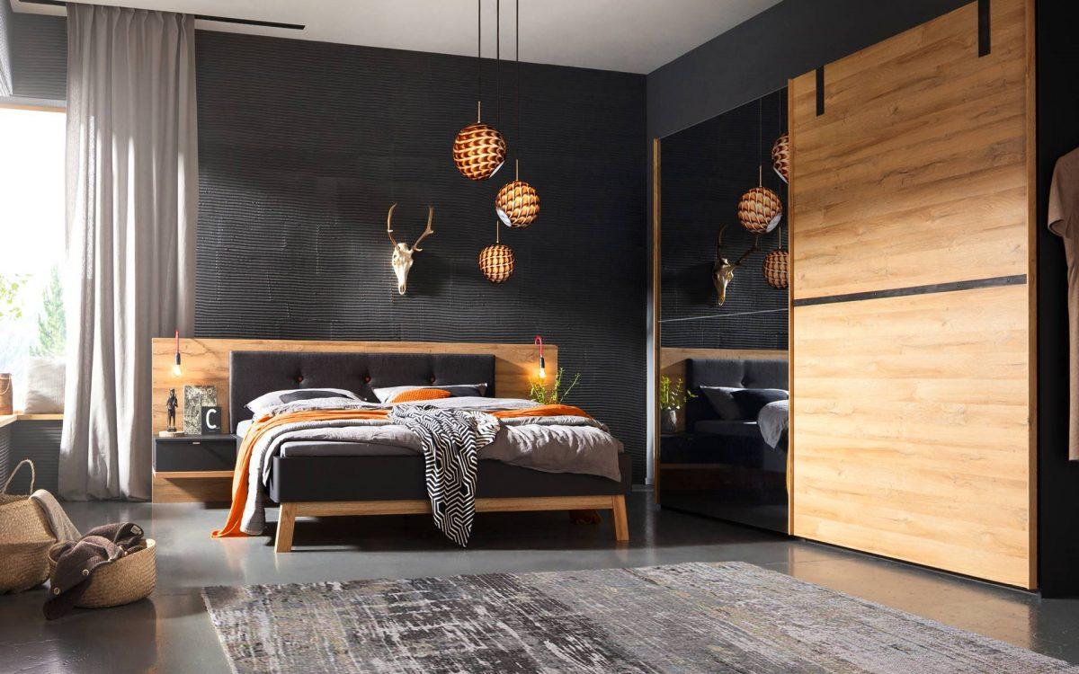 Chambre design épuré, porte coulissantes ou battantes - Story