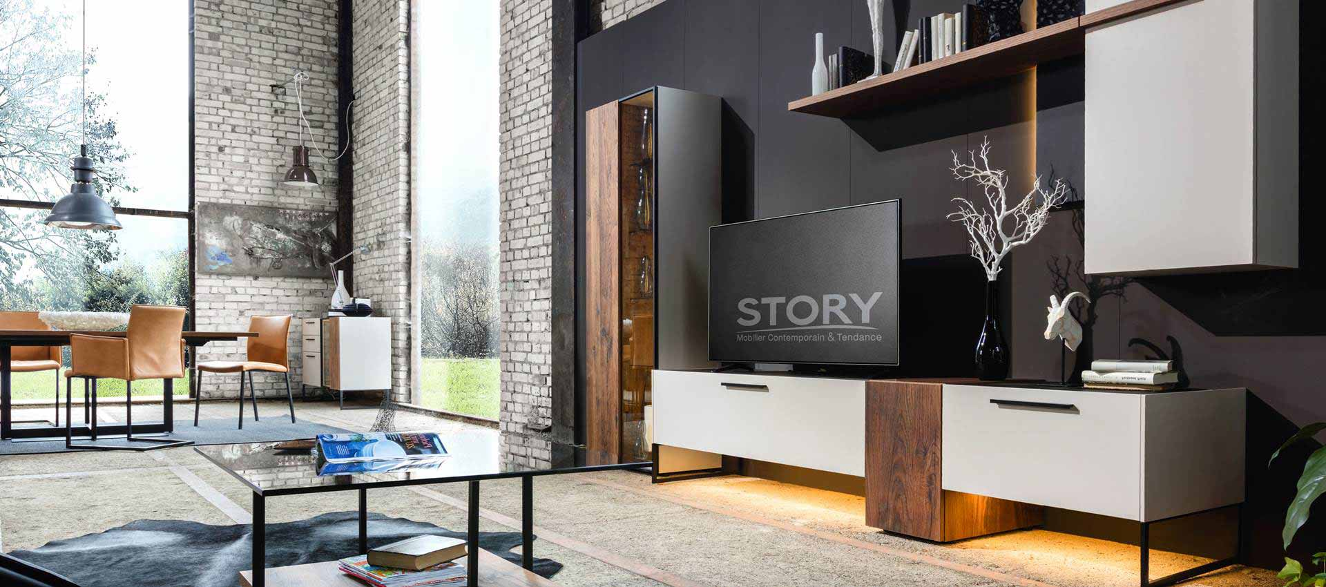 story mobilier contemporain et tendance salons s jours chambres. Black Bedroom Furniture Sets. Home Design Ideas