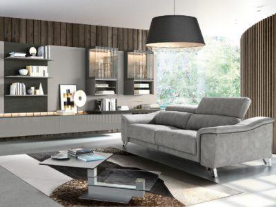 Canapé relax assise coulissante - STORY Mobilier contemporain et tendance