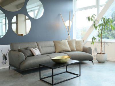 Canapé composable avec méridienne
