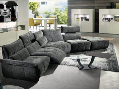 Canapé modulable relaxation électrique - STORY
