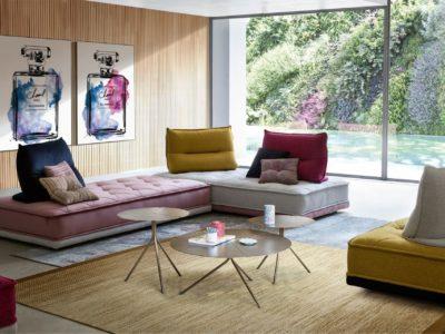 Salon modulable avec dossiers amovibles - STORY