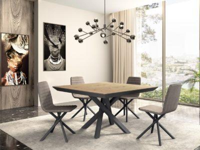 Table extensible ronde ou carrée - STORY Mobilier contemporain et tendance