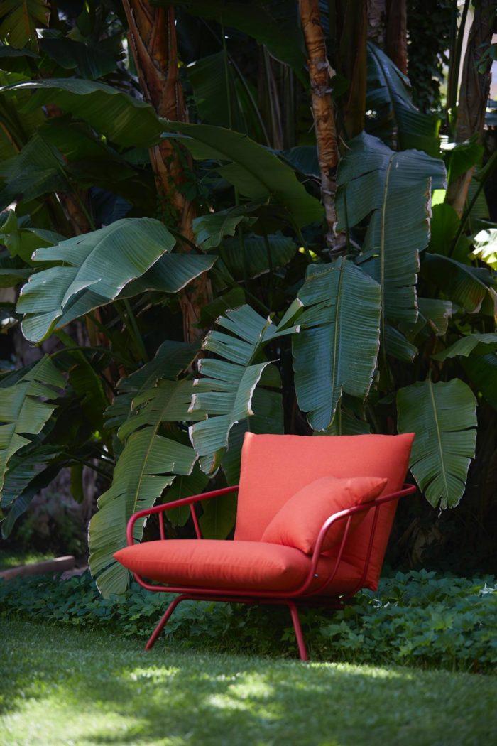 Outdoor fauteuil extérieur STORY Mobilier contemporain et tendance