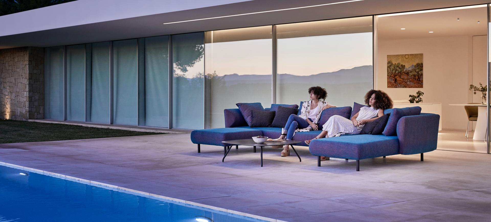 Canapé outdoor STORY - Mobilier contemporain et tendance