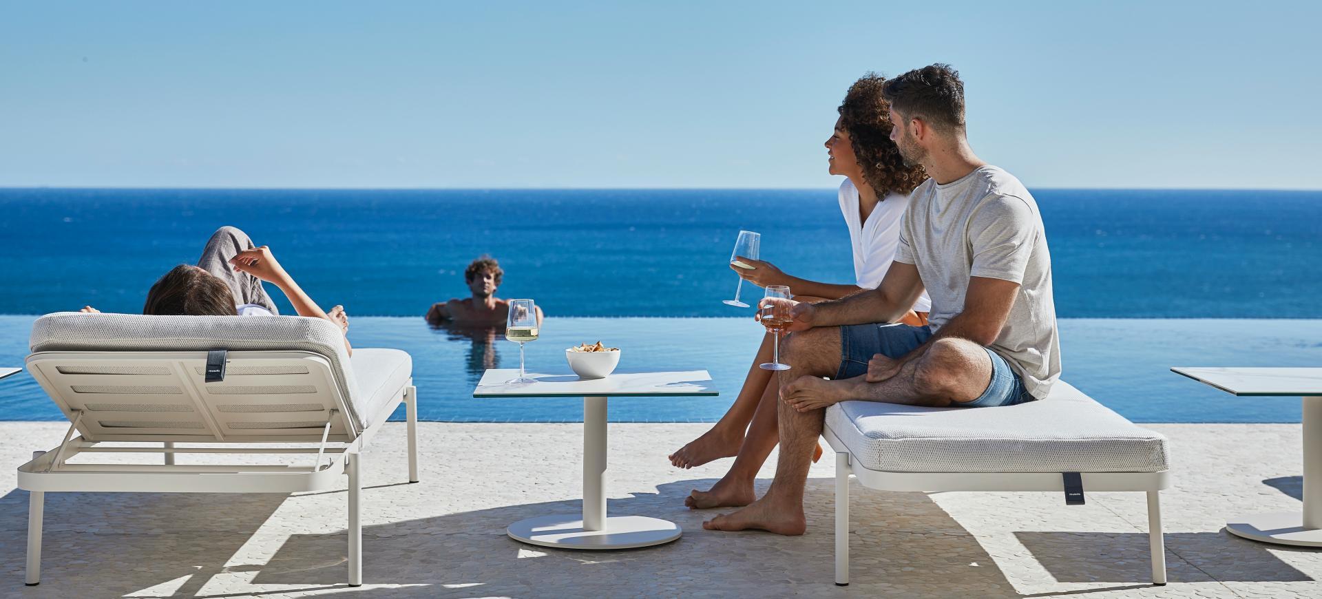 Outdoor transat bain de soleil STORY Mobilier contemporain et tendance